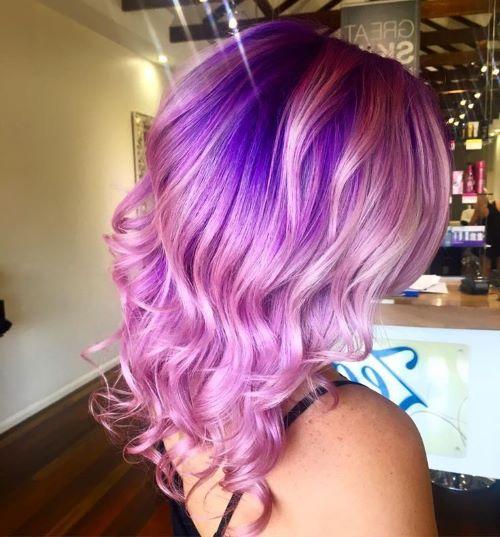 Фиолетовые оттенки