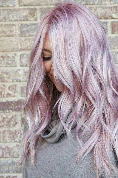 пастельно-розовый оттенок