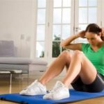 Эффективное упражнение для пресса в домашних условиях