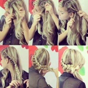 Легкие причёски для девочек на длинные волосы