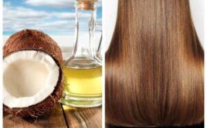 Кокосовое масло для волос применение от выпадения