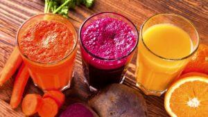 Какой сок более полезный – фруктовый или овощной?