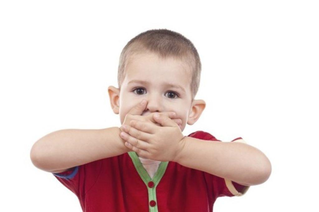 Дети трех лет не разговаривают