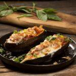 Баклажаны рецепты быстро и вкусно фаршированные