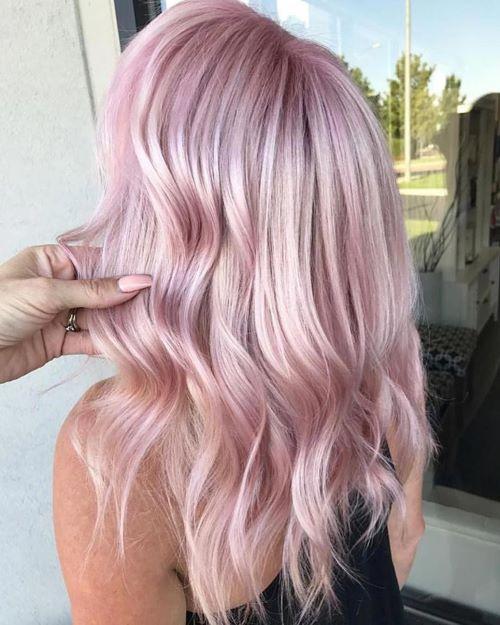 пастельно-розовый