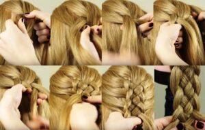 коса из пяти